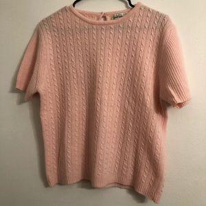 Lauren Alexandra lambswool angora sweater  VTG M